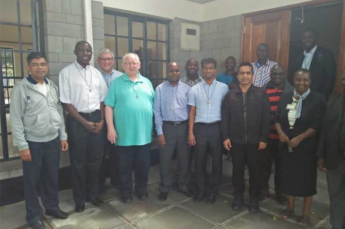 Visit from members of the Congregation's leadership